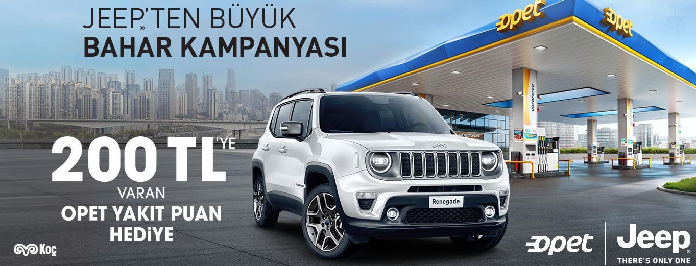 Jeep'den Büyük Bahar Kampanyası!